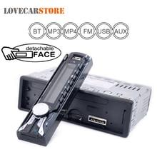 1188B 1DIN 12 В Bluetooth автомобиля Радио Авто Стерео FM MP3-плеер AUX Вход со съемной передней Панель и USB SD + Дистанционное управление