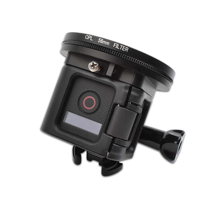 Xiaoyi Sport Cameras and Other Sport Cameras Dive Housing XIAOMO MEETBM 52mm Round Circle CPL Lens Filter for GoPro Hero 4//3+