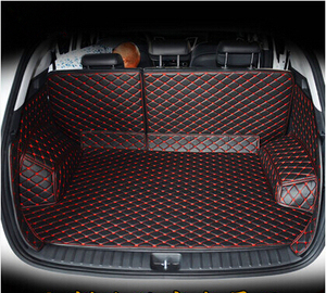 Image 3 - High quality Full set car trunk mats for Hyundai Tucson 2017 waterproof boot carpets cargo liner mat for Tucson 2016