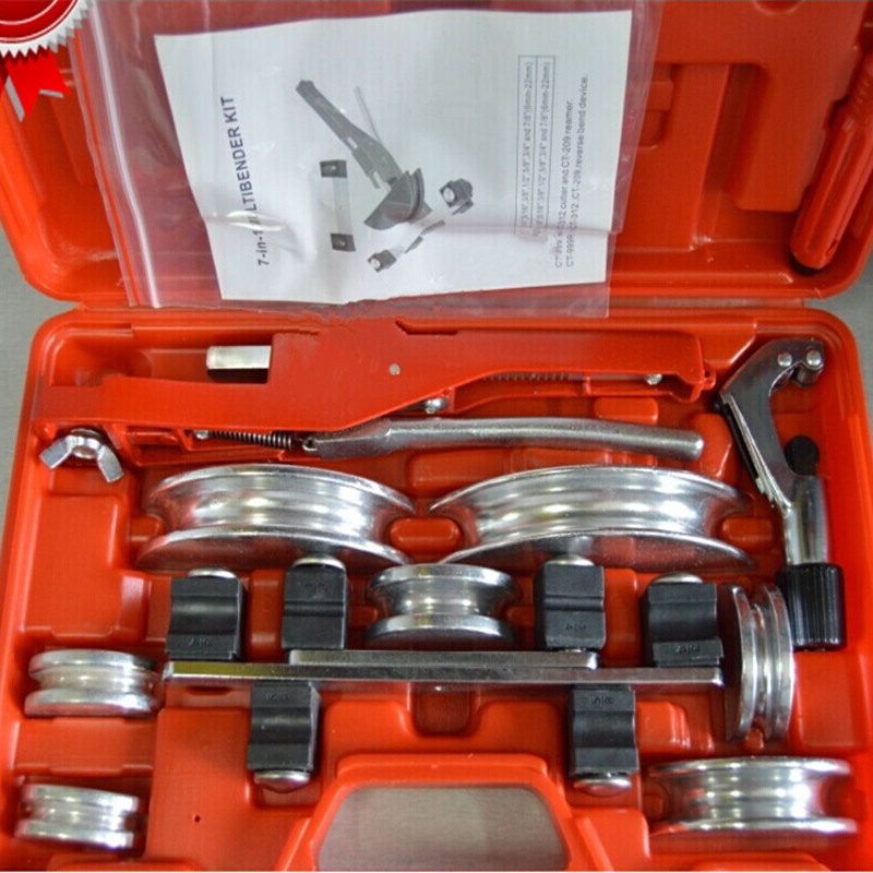 air condition pipe bend tools copper tube bending tool sets 6 22mm aluminium tube copper pipe bender CT 999F-in Bending Machinery from Tools on ... & air condition pipe bend tools copper tube bending tool sets 6 22mm ...