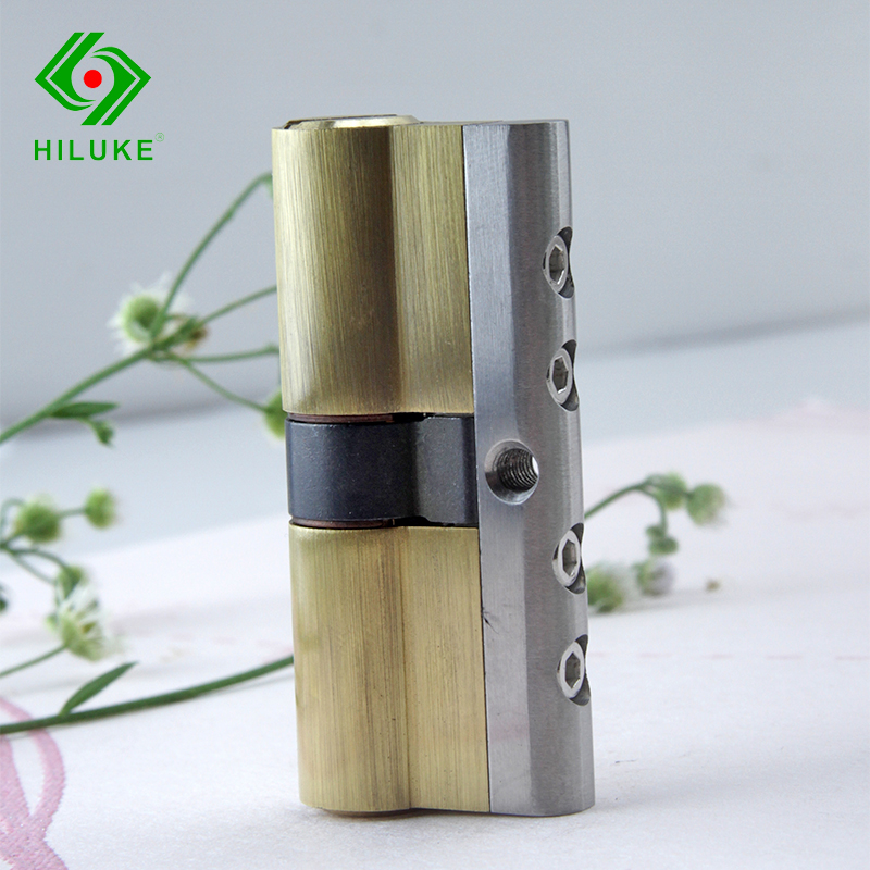 70MM BRASS ALLOY IDLING SECURITY DOOR LOCK DOUBLE OPEN CYLINDER SIX KEYS HIHG QUALITY t handle vending machine pop up tubular cylinder lock w 3 keys vendo vending machine lock serving coffee drink and so on