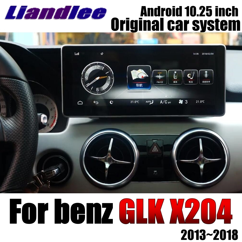 Liandlee Car Multimedia Player NAVI For Mercedes Benz MB GLK Class X204 2013~2018 Comand NTG Car Radio Stereo GPS Navigation