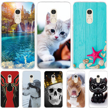 все цены на For Xiaomi Redmi Note 4 4X Case Silicone Cover Dog Cat Animal For Xiaomi Xiomi Xioami Redmi Note 4 4x Note4 Note4x Phone Cases
