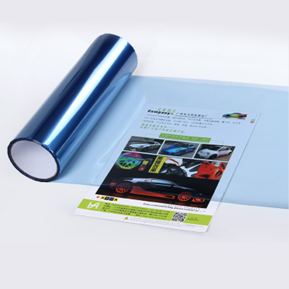 Image 4 - Quality Car Headlight Fog Light Vinyl Film Auto Taillight Tint Smoke Film Sticker Many Colors In Stocks 0.3x10m(1x33ft)-in Car Stickers from Automobiles & Motorcycles
