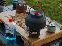 ALOCS воды чайник Кухонная посуда воды горшок 1.4L чайник с Спиртовка CW-K04 Pro
