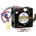 New 12V 4020 0.1A 4CM DS04020B12L dual ball silent server fan