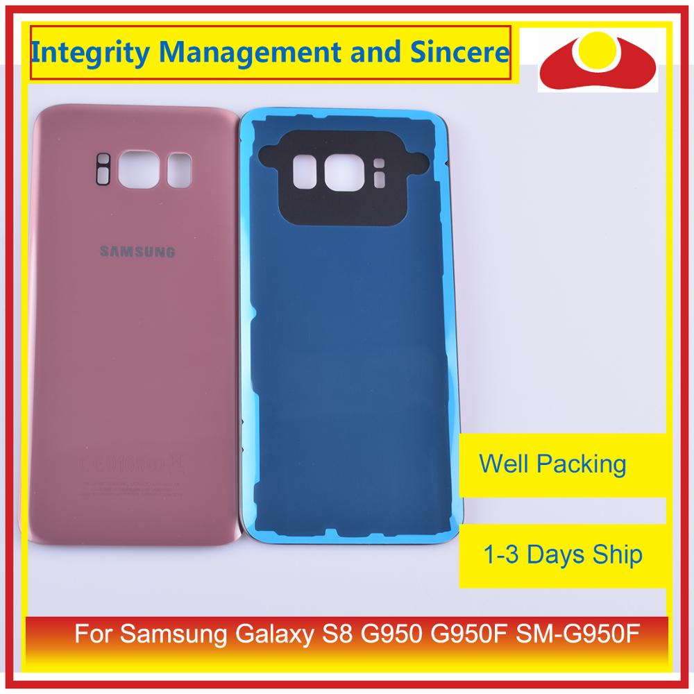 Image 4 - 50Pcs/lot For Samsung Galaxy S8 G950 G950F SM G950F Housing Battery Door Rear Back Glass Cover Case Chassis Shell-in Mobile Phone Housings & Frames from Cellphones & Telecommunications