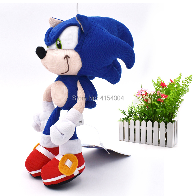 20 pcs lot Blue Sonic Cartoon Animal Stuffed Plush Toys Figure Dolls Gifts For Kids 20 cm Christmas Gift in Movies TV from Toys Hobbies