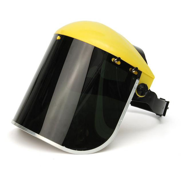 Pantalla protectora de la cara de máscara de soldadura y aislamiento térmico pantalla UV superficie de pantalla fácil de instalar Seguridad Laboral Supplie