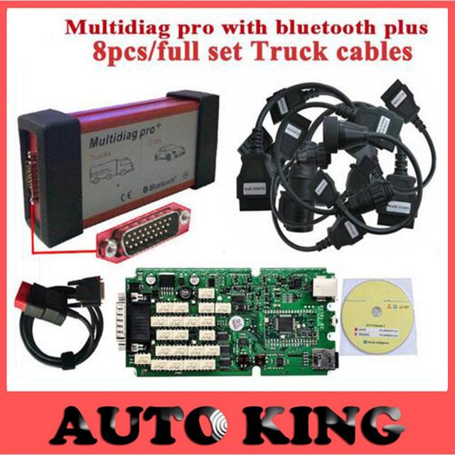 Última versión 2015.1 Bluetooth Multidiag pro + igual que CDP Plus Scanner + cable Camión + 2015. R1 sola verde 100% nuevo NEC Relay
