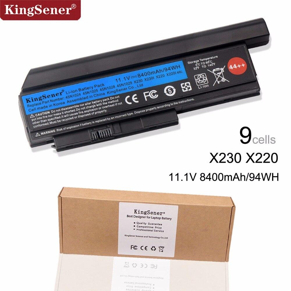 Corée Cellulaire KingSener Nouvelle Batterie D'ordinateur Portable pour Lenovo Thinkpad X230 X230I X220 X220I X220S 45N1029 45N1028 45N1172 45N1022 44 + +