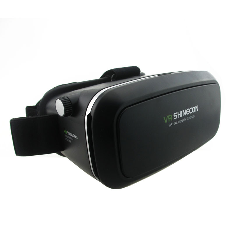 <font><b>VR</b></font> Shinecon <font><b>VR</b></font> <font><b>Virtual</b></font> <font><b>Reality</b></font> 3D <font><b>Glasses</b></font> Headband Cardboard Headmount Mobile 3D <font><b>Movie</b></font> Games <font><b>for</b></font> iPhone/Samsung <font><b>4.7-6</b></font> Smartphone