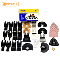 30% OFF fit for Multimaster power tool as Fein,Bosch 50pcs Kit Oscillating Tool Saw Blades from 10mm to 88mm Multitool Blade