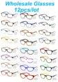 Venta al por mayor Accesorios Eyewear Hombres Ojos Marcos de Los Vidrios de La Vendimia Mujeres Retro Marco Óptico Gafas de grau Ojo de Gato Yoptical