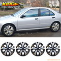Universal 15 Inch Hub Caps Hubcap Wheel Cover Rim Skin Covers 4PC