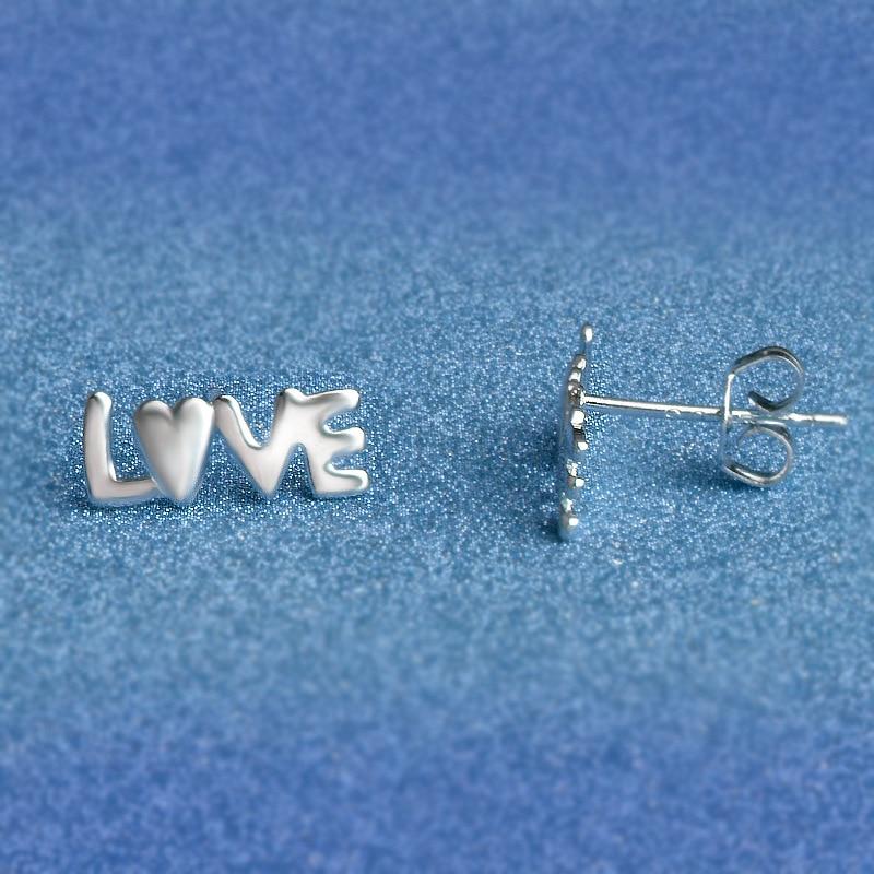2020 New Pearl Wholesale Jewelry Earrings Metal Hollow Love Box Wild Earrings Girl Jewelry Wholesale Free Shipping