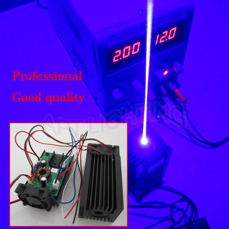 REAL NEW 3500mw / 3.5w 445 blue Stage Light RGB Laser Module / High Power White Laser / Compact Design / TT L