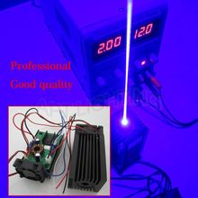 REAL NEW 3000mw/3w 445  blue Stage Light RGB Laser Module/High Power White Laser/Compact Design/TT L