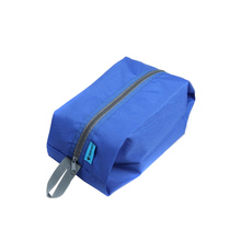 Waterproof Portable Travel Sports Pouch Bag Tote Toiletries Laundry Shoe Pouch Storage Bag Blue Outdoor Equipment