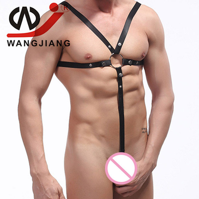Wj Male Jockstrap Thong Gay Sex Toys For Men Gay Porn Pride Mens Sexy Underwear Spandex Thongs And G Strings Clothing Jewelry
