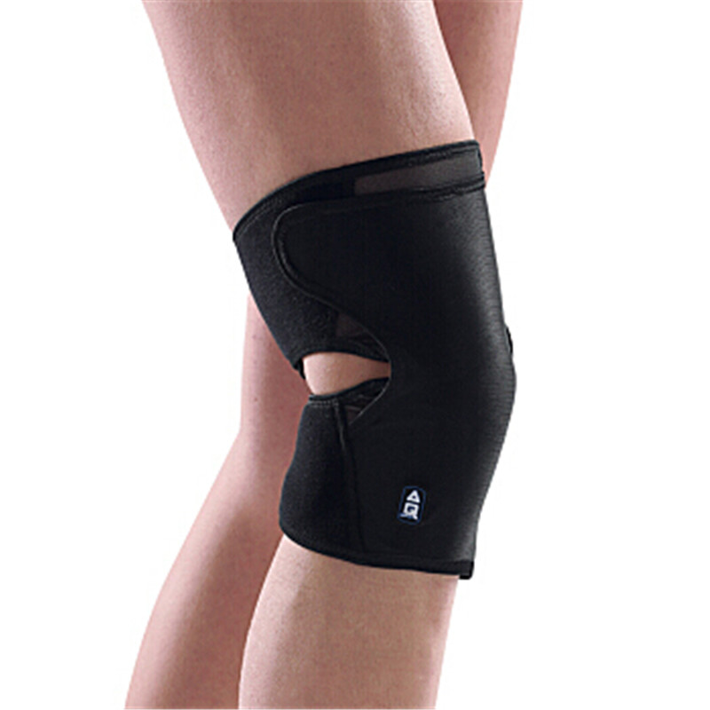Adjustable Lightweight breathable Knee Pads Football Basketball Volleyball Knee Brace Patella Guard knee patella sport support guard pad protector brace strap stabilizer protection white