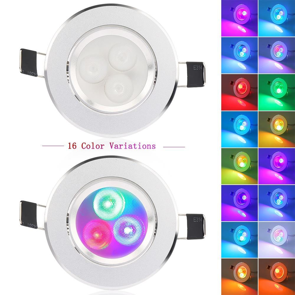 10pcs / lot 5W RGB кідіртілген - LED Жарықтандыру - фото 6