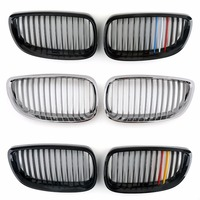Areyourshop Car For BMW Front Kidney Grille Grill For BMW 3 Series 2Dr E92 E93 ABS