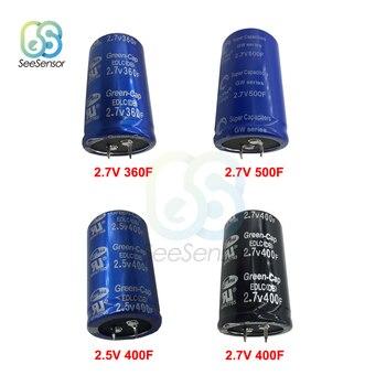 2,5 V 2,7 V 360F 400F 500F Farad condensador Ultracapacitor motor batería de arranque Booster coche súper condensador de alta frecuencia