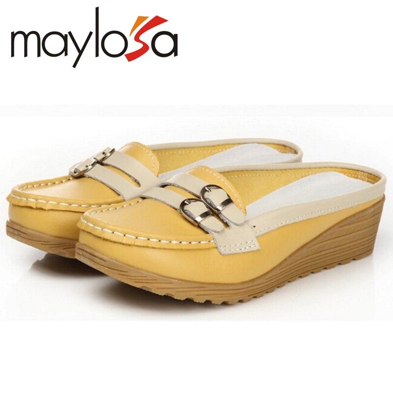 font b Women b font sandals comfortable font b Women b font genuine leather sandals