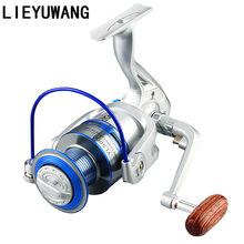 5.2:1 Speed Ratio 12 Ball Bearings YL1000-6000 Spinning Fishing Reel Left Right Hand Exchange Spool Fishing Spinning Reel Wheels kastking kodiak saltwater spinning reel larger aluminum spool 18kg drag boat fishing reel with 11 ball bearings 5 2 1 gear ratio