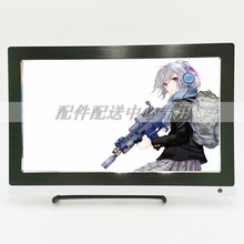 10.6 Widescreen 1920*1080 IPS LED Panel 1080P Monitor Support HDMI VGA USB for XBOX PS4 Game Console /Raspberry Pi