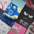 Fm cubierta cubierta de cuero de lujo case para amazon kindle paperwhite 2015 6 ''kindle paperwhite case + protector de pantalla + stylus