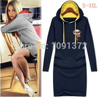 HOT SALE New Hoodies Sport Suit Cotton Long Sleeve Sweat Shirt Plus Size Pullover Casual Female