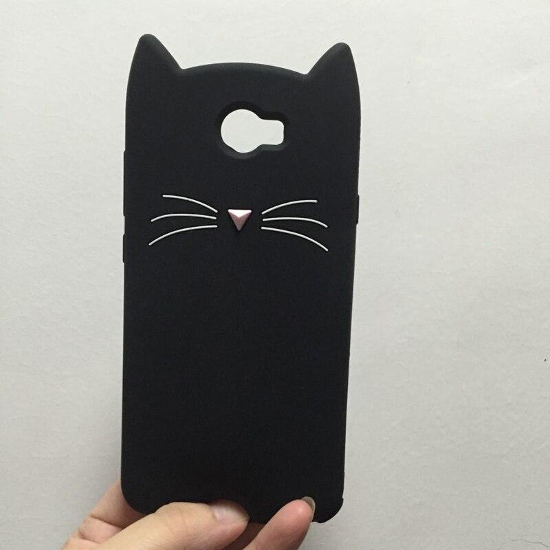 Case For Huawei Y5II Y5 II 2 Cover Cute Cartoon Stitch Unicorn Cat Ears Soft Silicone Phone Back Cases For Huawei Y5 ii Fundas