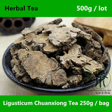 Authentic Featured Ligusticum Chuanxiong Tea 500g, Pure Natural Szechuan Lovage Dry Root, Health Care Raw Chuan Xiong Herbal Tea