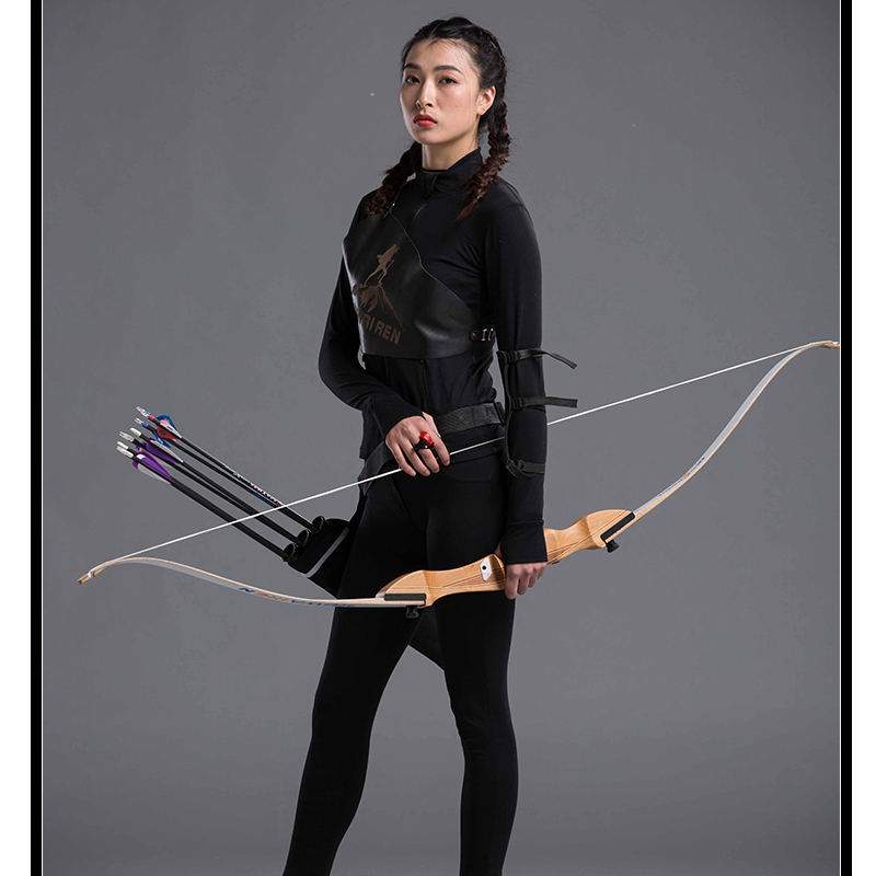 68inch 20-30lbs Archery Recurve Bow Wooden Shooting Hunting Bow Arrow Take Down Wood Bow Outdoor Sports Game Practice new design archery larp game take down bow wooden laminated 20 lbs for shooting practicing
