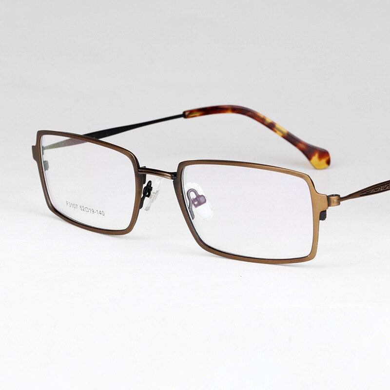 Myopia Frame Restore Ancient Ways Block Eye Frame Men And Women