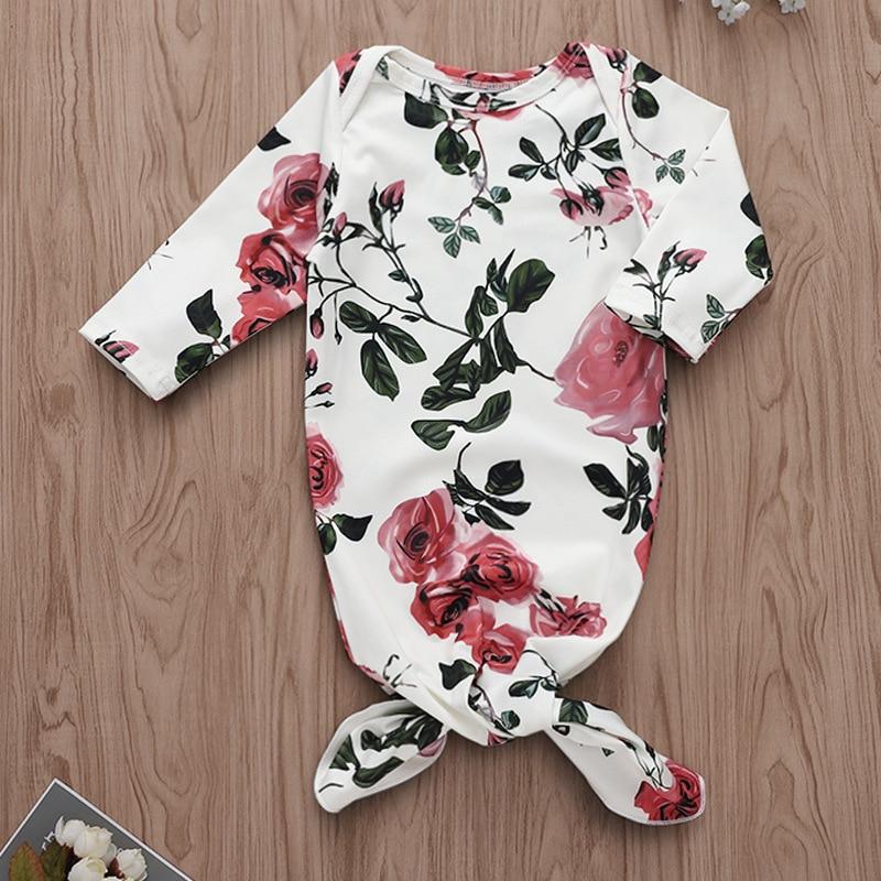 Baby Schlafsack Nette Schlaf Sack Für Neugeborenen Kleidung Blume Stil Schlafsäcke Hülsenspielanzug Für 0-3 M