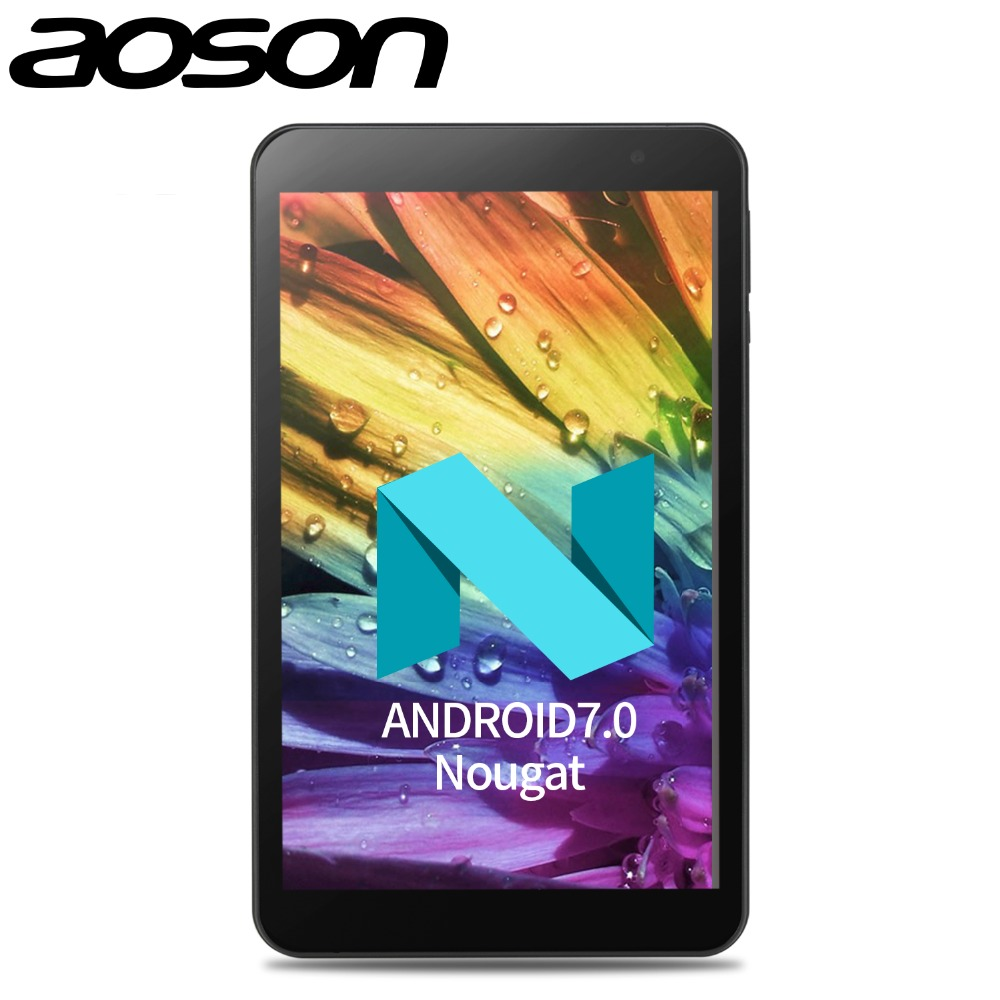 New Aoson Tablets 8 inch Android 7.0 Quad Core Dual WIFI 5G/2.4G M815 IPS 1280x800 2GB +32GB HDMI GPS Bluetooth Tablet PC