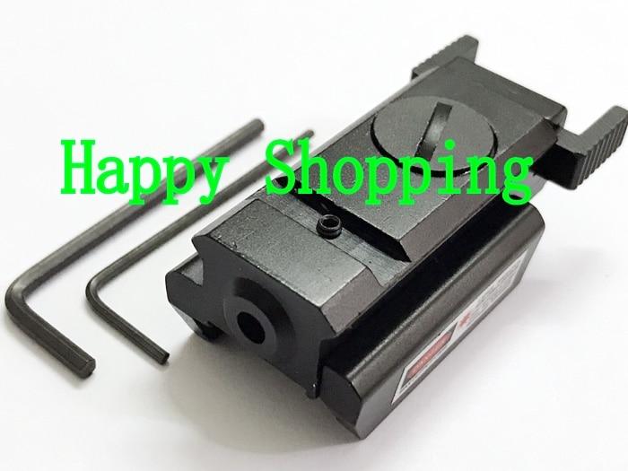 Красный точка лазерный прицел 20 мм Крепление Рельс Вивер Охота рефлекторный прицел тактический страйкбол пистолетный прицел лазер
