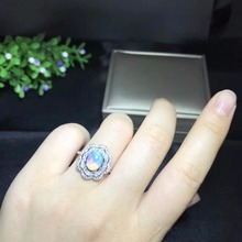 Premium Natural Fire Opal Ring – 925 Sterling Silver with Unique Gems Identification Certificate
