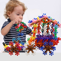 DIY Model Puzzle Kits Creative Educational Gift Toys for Children Bunches Ball Assembling 3D Puzzle Toys for Kids Girls