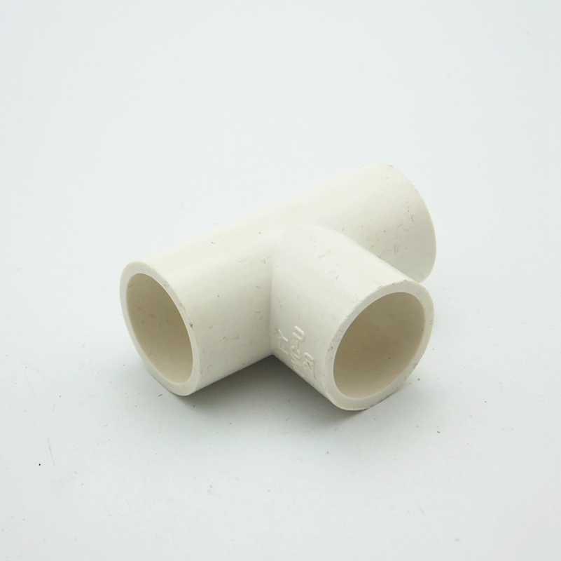 32 millimetri ID Equal Tee Tubo IN PVC Comune Tubo di Raccordo Accoppiatore Adattatore del Connettore di Acqua Per Il Sistema di Irrigazione del Giardino FAI DA TE