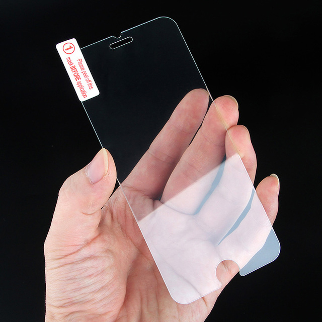SoCouple Screen Film 2.5D 0.3mm Ultra-thin Tempered Glass For iphone X Xs Xs Max XR 5 5s SE 6 6s 7 8 plus Tough protective film