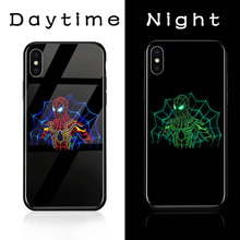 Marvel Avengers Luminous Glass Phone Case for Iphone – Thor