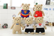 TALKING TEDDY BEAR WITH MOVING MOUTH AND TAG PLUSH CUDDLY SOFT TOY GIFTGIVING MEASURE 60CM 24