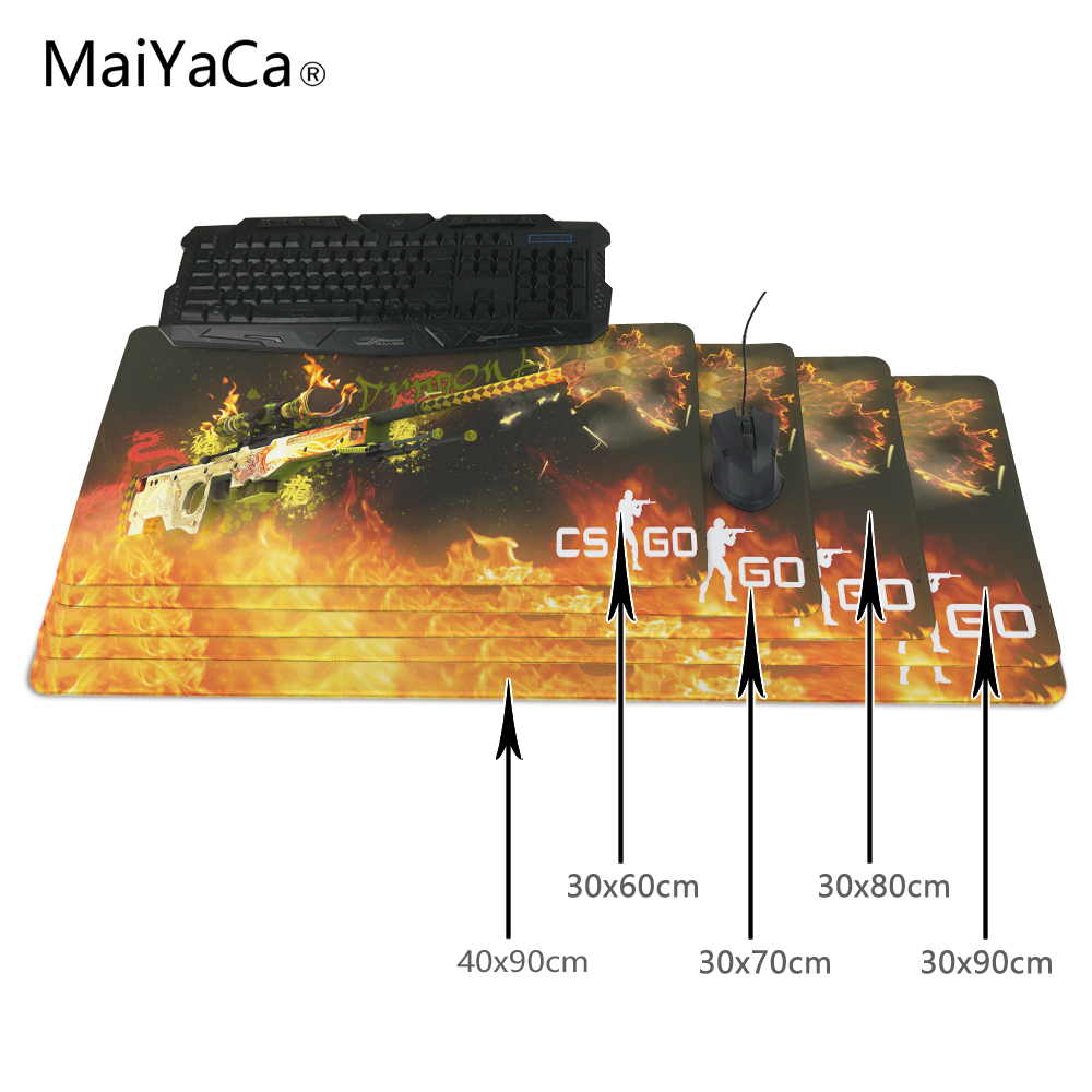 MaiYaCa CS GO AWP Dragon Lore Rubber Mouse pad Computer Desk