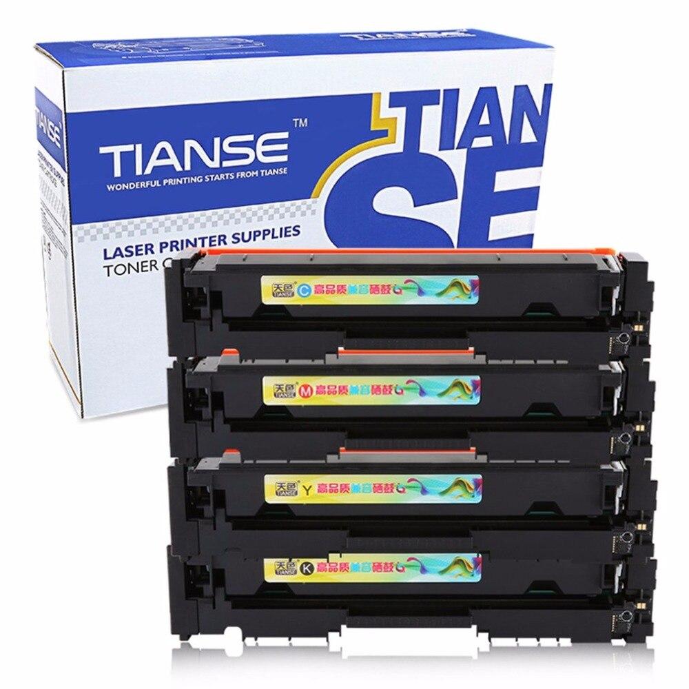 Chip for hp colour cf 400 a cf 400 m252dw m 277n m 252 mfp 252 n - Tianse 4 Colors Set Toner Cartridge Compatible For Hp M252n M252dw M277dw M277n Non