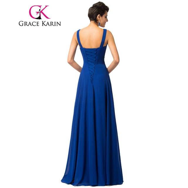 placeholder Spaghetti Strap Bridesmaid Dresses Grace Karin 2018 Floor  Length Long Sequins Brides Maid Dresses Robe De 79a153700e74
