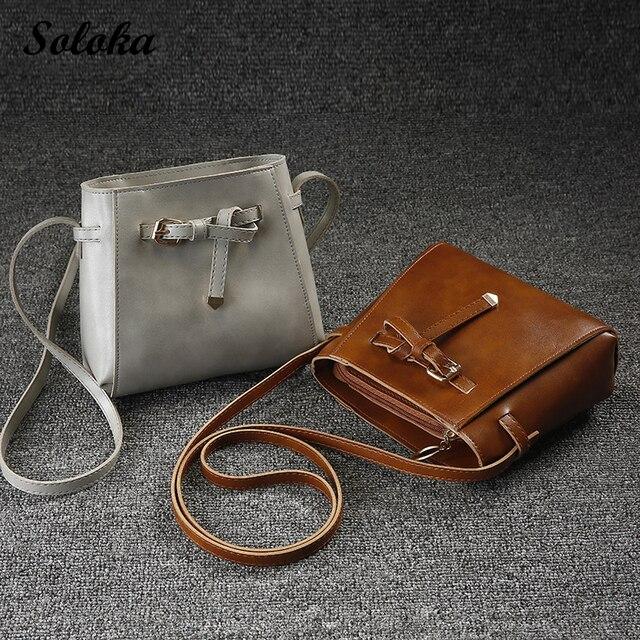 New Fashion Women Girl Handbag Messenger Vintage Envelope Shoulder Bag High  Quality PU Briefcase Crossbody Phone Bags 2018 f3fa73114876a